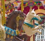 Animais do carrossel Foto de Stock Royalty Free