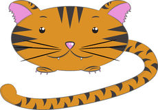 Animais do vetor, tigre Fotografia de Stock