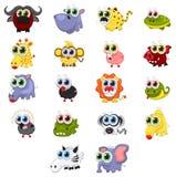 Animais dos desenhos animados Imagens de Stock Royalty Free