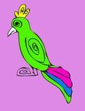 Animais dos desenhos animados ilustração stock