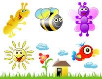 Animais dos desenhos animados Imagens de Stock