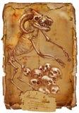 Animais e monstro legendários: MINOTAUR Imagens de Stock Royalty Free