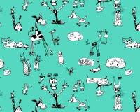 Animais engraçados Imagem de Stock Royalty Free