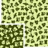 Animais - floresta Imagens de Stock