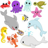 Animais marinhos dos animais selvagens Foto de Stock