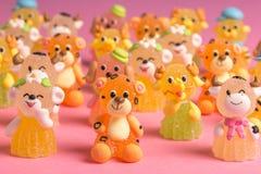 Animais no açúcar imagem de stock
