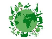 Animais no planeta, abrigo animal, santuário de animais selvagens Dia de ambiente de mundo Fotografia de Stock