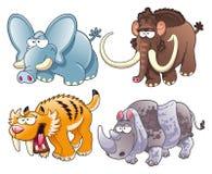 Animais pré-históricos ilustração do vetor