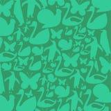 Animais verdes Fotografia de Stock Royalty Free