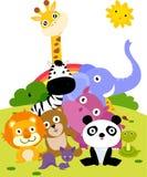 Animal. Group of animal ,illustration art Royalty Free Stock Image