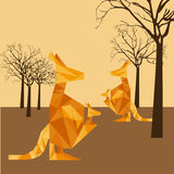 Animal abstract. Design, vector illustration eps10 graphic Stock Photos