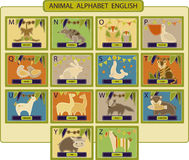 Animal-alphabet2 Royalty Free Stock Photos