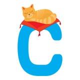 Animal alphabet Stock Images