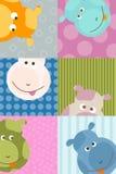 Animal background Royalty Free Stock Images