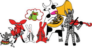 The Animal Band Stock Photography