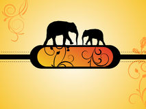 Animal banner Stock Images