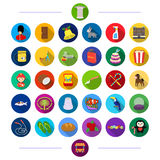 , animal, bird, cooking and other web icon in flat style.entertainment, tourism, experiments, icons in set collection. Animal, bird, cooking and other  icon Stock Photos