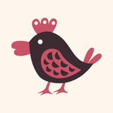 Animal bird flat icon elements, eps10 Royalty Free Stock Photo