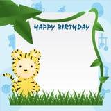 Animal Birthday Card Stock Images