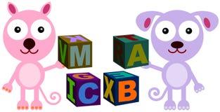 Animal blocks Stock Photos