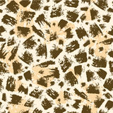 Animal brush stroke seamless pattern background Stock Photo