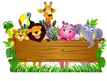 Animal cartoon Royalty Free Stock Images