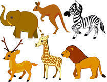 Animal cartoon Royalty Free Stock Photo