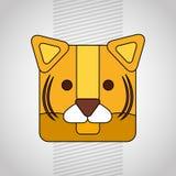 Animal cartoon design Royalty Free Stock Images