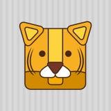 Animal cartoon design Stock Photography