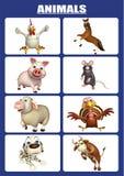 animal chart Royalty Free Stock Photography