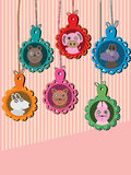 Animal Circle Tag Stock Images