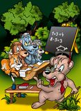 Animal Classroom Royalty Free Stock Photo