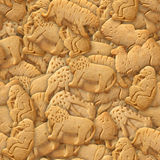 Animal Cracker Cookies Stock Photography