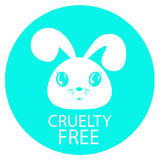 Animal cruelty free icon design. Stock Photography