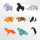 Animal d'Origami Images libres de droits