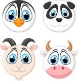 Animal da cara do bebê da coleção Imagem de Stock