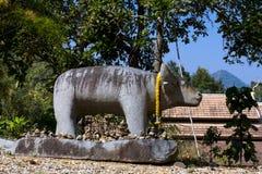 Animal da escultura exterior em tempe foto de stock