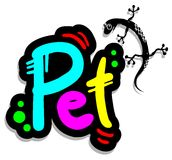Animal de estimação colorido Fotografia de Stock