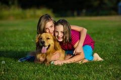 Animal de estimação da família Imagens de Stock
