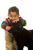 Animal de estimação do brinquedo da preparação da criança Foto de Stock