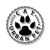 Animal de estimação Gato-urbano ilustração do vetor