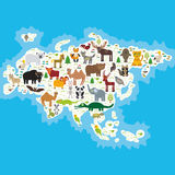 Animal de Eurasia stock de ilustración