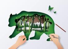 Animal de faune du monde Image libre de droits