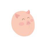 Animal de ferme de porc Photos stock