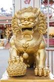 Animal de la mascota de Pixiu de China Imagen de archivo libre de regalías