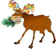 Animal de la Navidad stock de ilustración