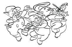 ` Animal de la serie del ` de la página que colorea ilustración del vector