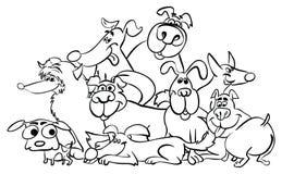 ` Animal de la serie del ` de la página que colorea stock de ilustración
