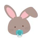 Animal design. cartoon rabbit icon. isolated image.  Stock Photos