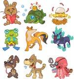 Animal do Doodle Foto de Stock
